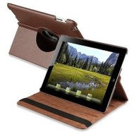 *SALE* Smart Rotary Leather Case for iPad 2, iPad 3 and iPad 4th Generation - Brown