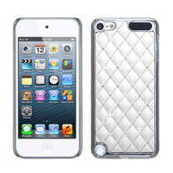 Luxurious Chrome Spot Diamond Case for iPod Touch (5th, 6th and 7th Generation) - White