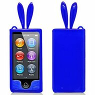*Sale* Bunny Ears Gelli Cover for iPod Nano 7th Generation (Blue)