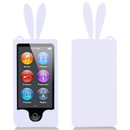 *Sale* Bunny Ears Gelli Cover for iPod Nano 7th Generation (White)