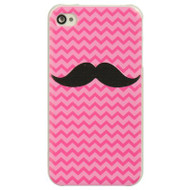 *Sale* Aero Designer Case and Screen Protector for iPhone 4 / 4S - Mustache