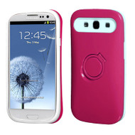 Bandstand Fusion Case for Samsung Galaxy S3 - Hot Pink White