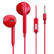 Mybat Hi-Fi Dynamic Stereo Hands-free Headset with Mic - Red