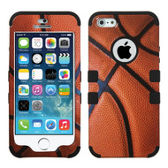 Military Grade Certified TUFF Image Hybrid Case for iPhone SE / 5S / 5 - Basketball