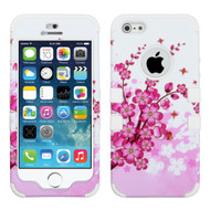 *SALE* Military Grade Certified TUFF Image Hybrid Case for iPhone SE / 5S / 5 - Spring Flowers
