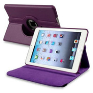 *SALE* 360 Degree Smart Rotary Leather Case for iPad (2018/2017) / iPad Air - Purple
