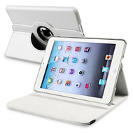 *SALE* 360 Degree Smart Rotary Leather Case for iPad (2018/2017) / iPad Air - White