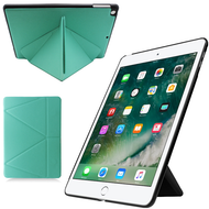 *FINAL SALE* Multi-Angle Smart Leather Hybrid Case for iPad 9.7 (2018/2017) - Teal Green
