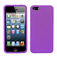 *Sale* Premium Silicone Skin Cover for iPhone 5 / 5S - Purple