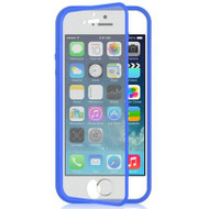 Gelli Flip Case with Integrated Screen Protector for iPhone 5 / 5S - Blue