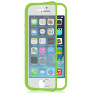 Gelli Flip Case with Integrated Screen Protector for iPhone SE / 5S / 5 - Green