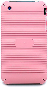 Super Grip Protective Snap-on Cover for Apple iPhone 3G / iPhone 3G S (Pink)