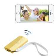Selfie Mate Multifunctional Bluetooth Wireless Remote Control - Yellow