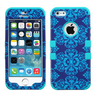 Military Grade Certified TUFF Image Hybrid Case for iPhone SE / 5S / 5 - Damask