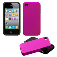 Fusion Multi-Layer Hybrid Case for iPhone 4 / 4S - Hot Pink