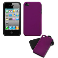 Fusion Multi-Layer Hybrid Case for iPhone 4 / 4S - Purple