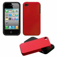 Fusion Multi-Layer Hybrid Case for iPhone 4 / 4S - Red