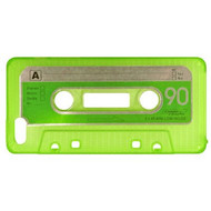 Retro Cassette Tape Case for iPhone SE / 5S / 5 - Green