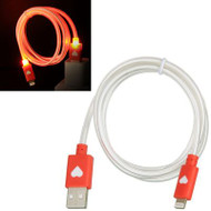 *SALE* Luxmo Neon Lightning Connector to USB Charging and Sync Cable - Red
