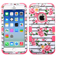 *SALE* Military Grade Certified TUFF Image Hybrid Case for iPhone 6 / 6S - Pink Fresh Roses