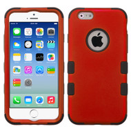 *SALE* Military Grade Certified TUFF Hybrid Case for iPhone 6 / 6S - Red