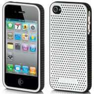 Platinum Collection Fusion Apex Case for iPhone 4 / 4S - Silver