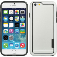 Snap-On Hybrid Bumper Case for iPhone 6 / 6S - White