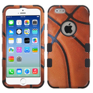 Military Grade Certified TUFF Image Hybrid Case for iPhone 6 / 6S - Basketball