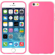 ActiveTime TPU Skin Cover for iPhone 6 - Hot Pink