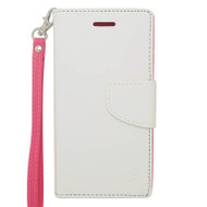Leather Wallet Shell Case for iPhone 6 / 6S - White