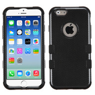 Military Grade Certified TUFF Image Hybrid Case for iPhone 6 / 6S - Carbon Fiber