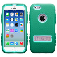 TUFF eNUFF Hybrid Kickstand Case for iPhone 6 / 6S - Green