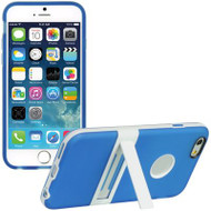 BumperShield Protective Kickstand Case for iPhone 6 / 6S - Blue