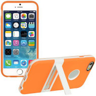 BumperShield Protective Kickstand Case for iPhone 6 - Orange