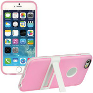 BumperShield Protective Kickstand Case for iPhone 6 - Pink