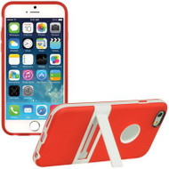 BumperShield Protective Kickstand Case for iPhone 6 - Red