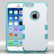Military Grade Certified TUFF Merge Hybrid Case for iPhone 6 / 6S - White Teal