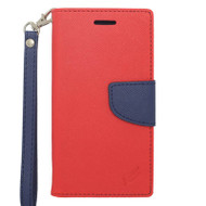 Leather Wallet Shell Case for iPhone 6 / 6S - Red