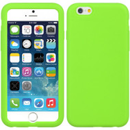 Anti Slip Silicone Skin Cover for iPhone 6 / 6S - Green