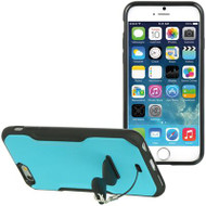 AquaFlex Hybrid Case with Attachable Kickstand for iPhone 6 - Blue