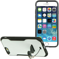 AquaFlex Hybrid Case with Attachable Kickstand for iPhone 6 - White