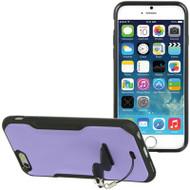 AquaFlex Hybrid Case with Attachable Kickstand for iPhone 6 - Purple