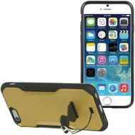 AquaFlex Hybrid Case with Attachable Kickstand for iPhone 6 - Gold