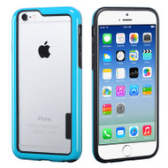 Snap-On Hybrid Bumper Case for iPhone 6 - Blue