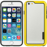 Snap-On Hybrid Bumper Case for iPhone 6 - Yellow
