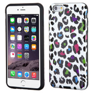 Dual Layer Hybrid Case for iPhone 6 Plus / 6S Plus - Color Leopard
