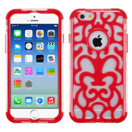 GloCase Hybrid Protector Cover for iPhone 6 / 6S - Web Red