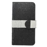 Diamond Wallet Case for iPhone 6 Plus / 6S Plus - Black