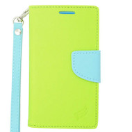 Leather Wallet Shell Case for iPhone 6 Plus / 6S Plus - Green
