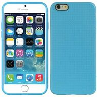Perforated TPU Case for iPhone 6 Plus - Blue